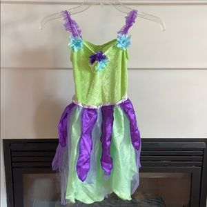 Fairy Costume Dress Girls Size S 5/6